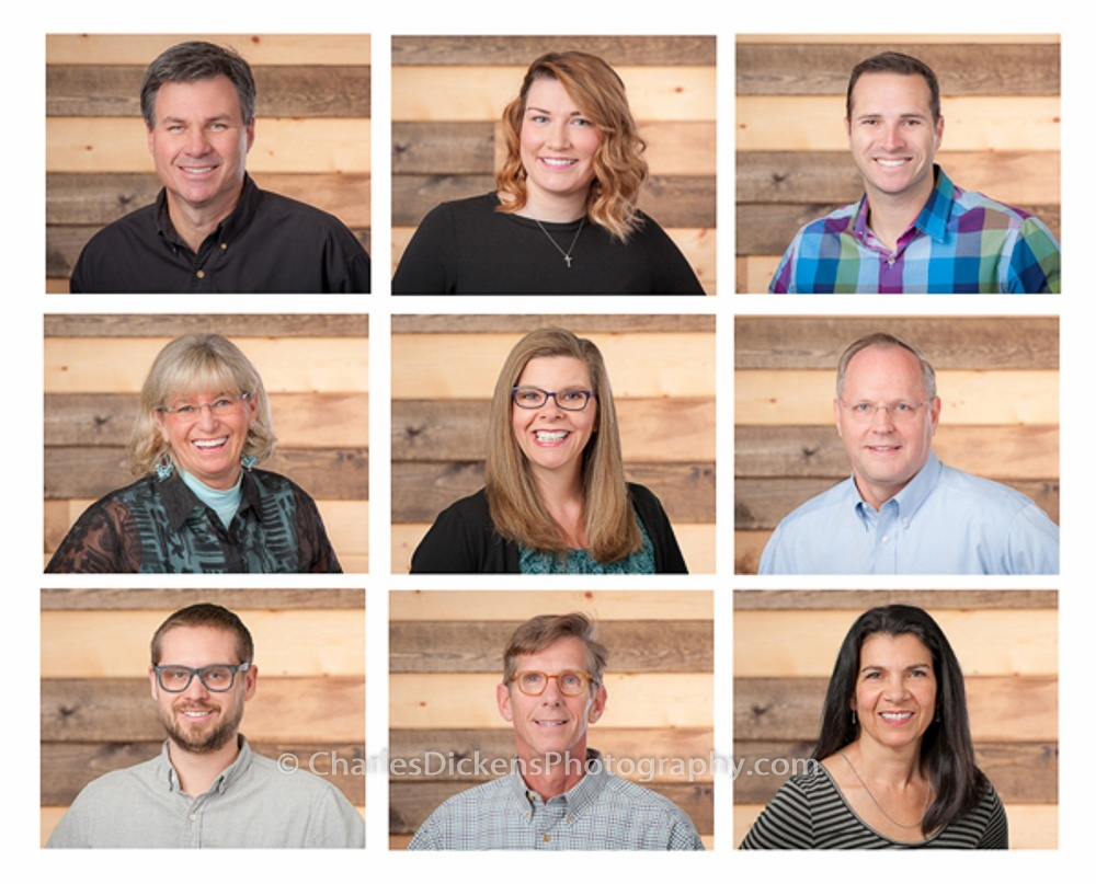 Corporate Headshot Collage