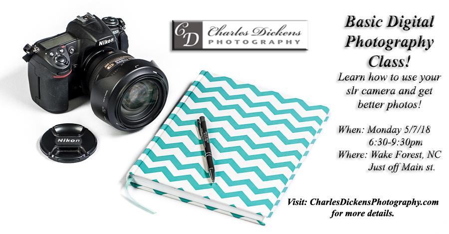 Photography Class Flyer