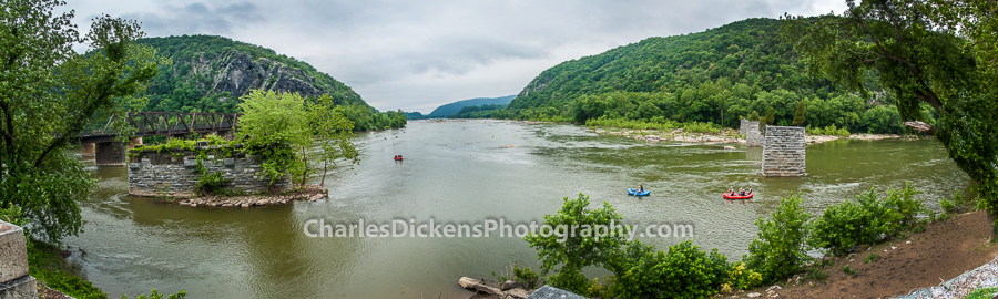 Harper's Ferry point - Where Shenandoah and Potomac Rivers meet