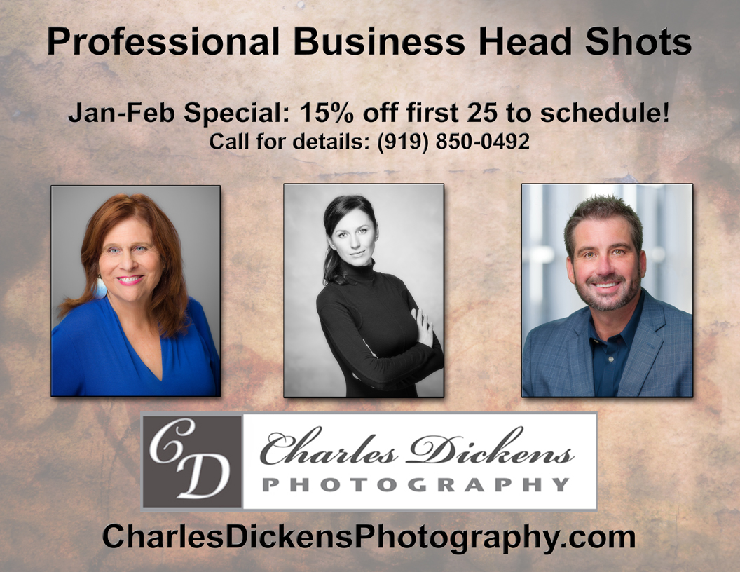 Raleigh business headshots